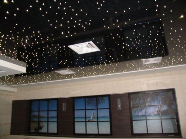 Натяжные потолки в зал, гостиную (17)