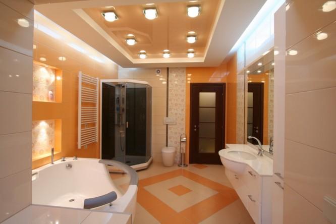 натяжной потолок в ванную и в туалет в уфе (4)