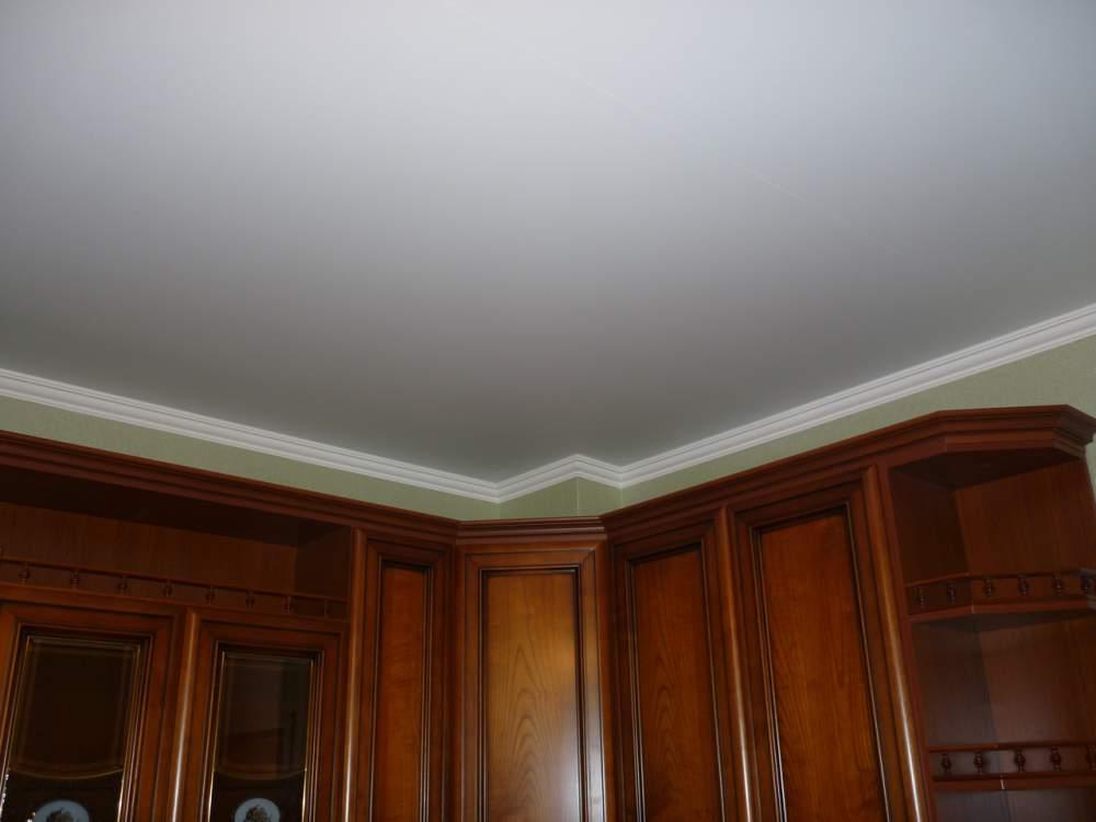 Матовый натяжной потолок (5)