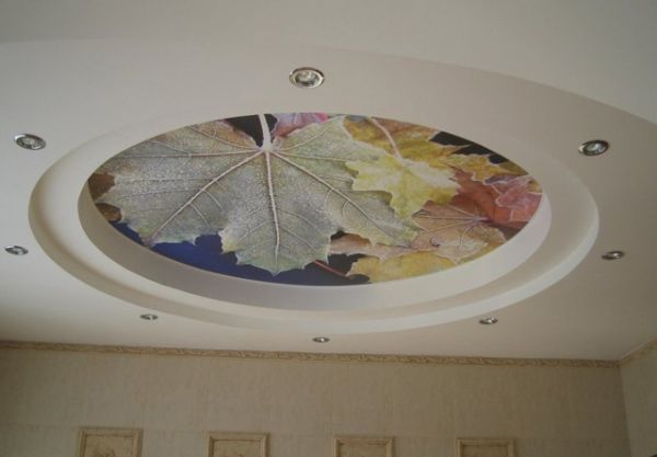 Матовый натяжной потолок (9)