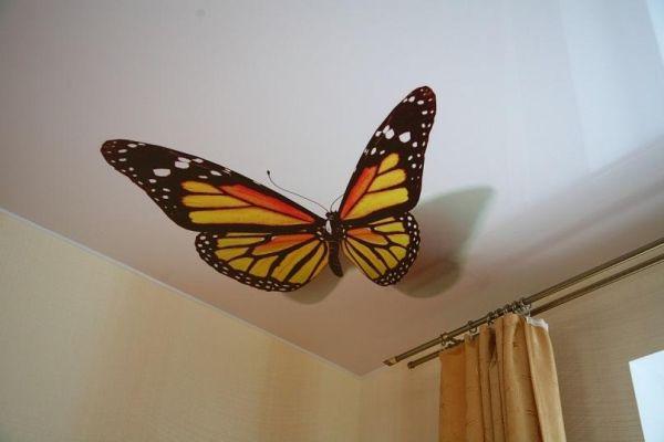 Натяжные потолки в зал, гостиную (14)