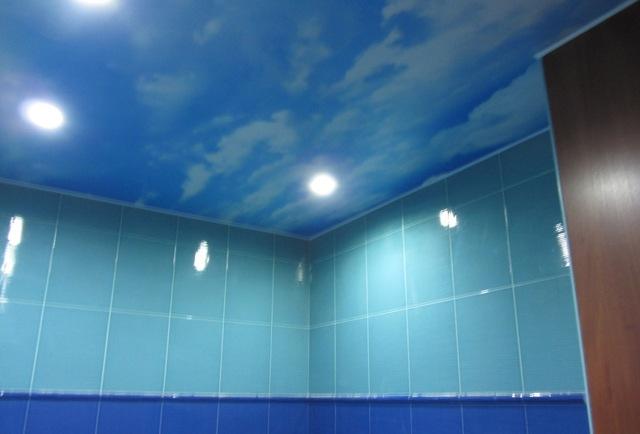 натяжной потолок в ванную и в туалет в уфе (7)