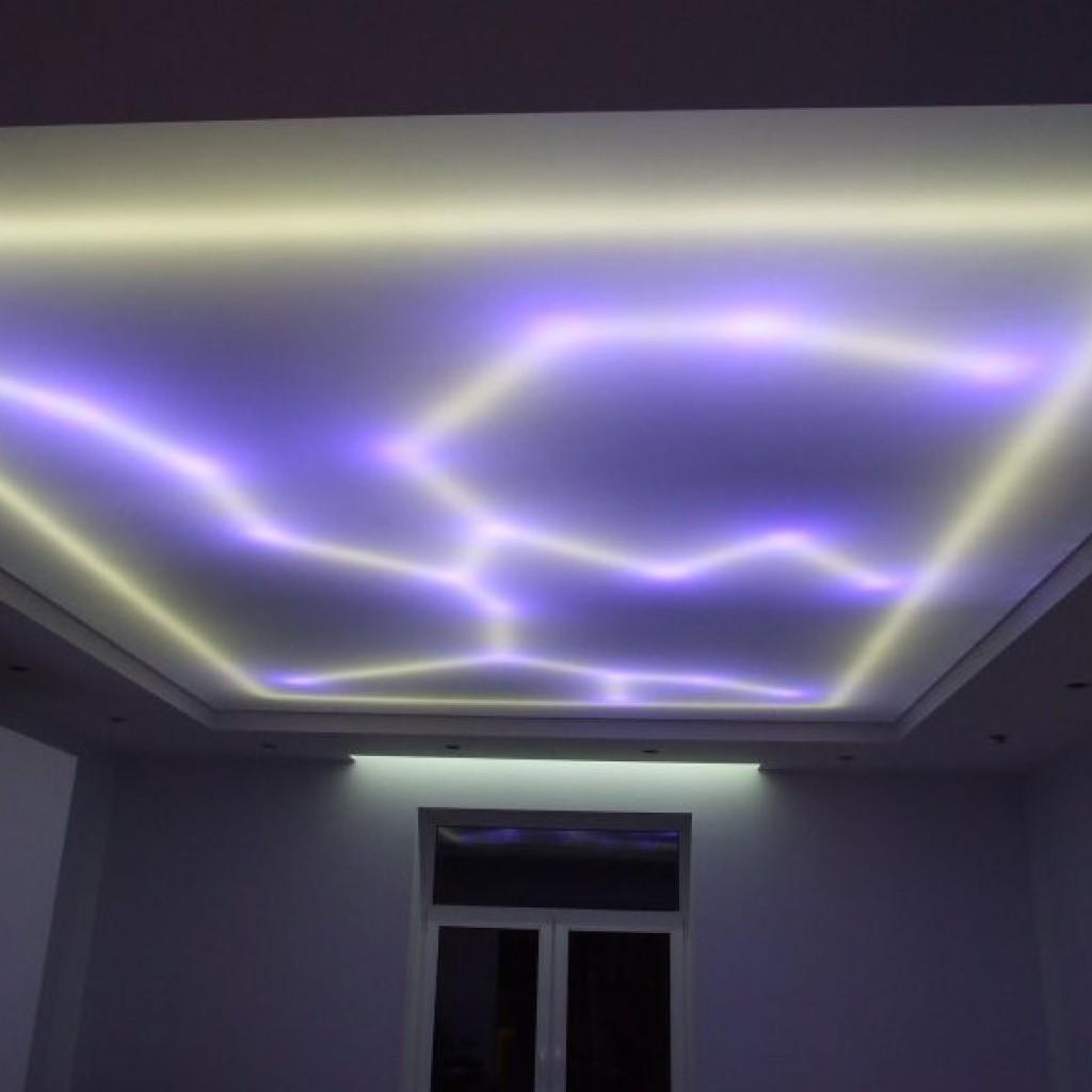 Фигурная светодиодная подсветка