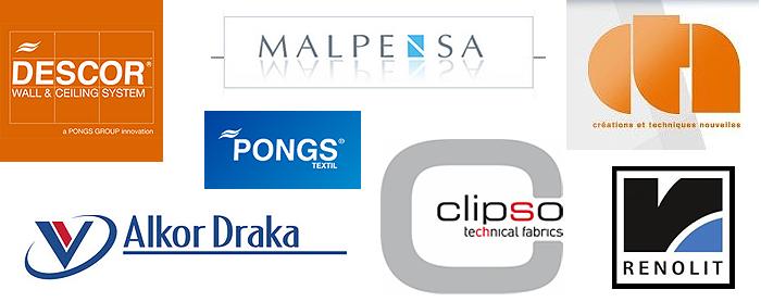 Мы используем самые популярные компании по производству материалов